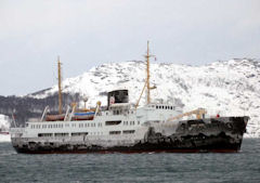 MS Nordstjernen in Kirkenes